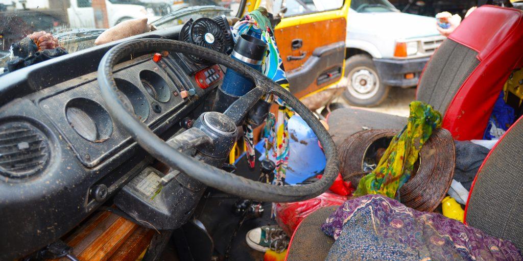 muddy-steering-wheel